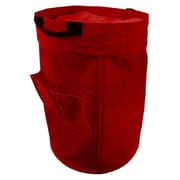 Casual Home Heavy Duty Laundry Duffle Bag; Red