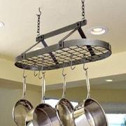 Enclume Decor Oval Rack; Hammered Steel