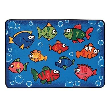 Kids Value Rugs Something Fishy Kids Rug; 4' x 6'