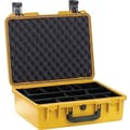 Pelican Storm Shipping Case with Foam: 15.2'' x 19.2'' x 7.3''; Yellow