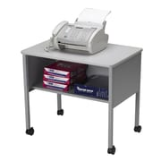 Mayline Desk Stand with Caster; Speckled Gray Matrix