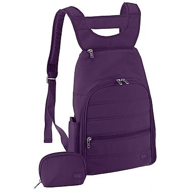 Lug Parachute Mini Backpack; Plum Purple