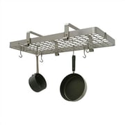Enclume Low Grid Pot Rack; Stainless Steel