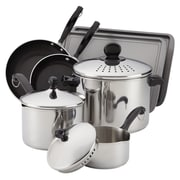 Farberware Classic Stainless 10 Piece Cook & Strain Cookware Set
