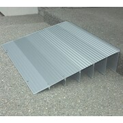 EZ-ACCESS Aluminum Threshhold Ramp; 1'' H