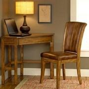 Hillsdale Solano Writing Desk with Chair; Medium Oak