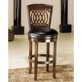 Hillsdale Vienna 24'' Swivel Bar Stool with Cushion