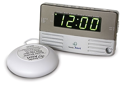 Sonic Alert Sonic Boom Bedside/Travel Vibrating Alarm Clock WYF078276561147