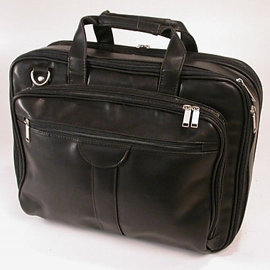 Stebco Deluxe Leather Laptop Briefcase