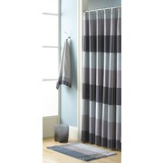 Croscill Fairfax Polyester Shower Curtain; Slate