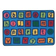Kids Value Rugs Alphabet Blocks Kids Rug; 3' x 4'6''