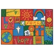 Kids Value Rugs Inspirational Patchwork Kids Rug; 3' x 4'6''