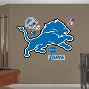 Fathead NFL Wall Decal; Detroit Lions
