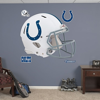 Fathead NFL Revolution Helmet Wall Decal; Indianapolis Colts WYF078276136918