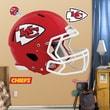 Fathead NFL Revolution Helmet Wall Decal; Kansas City Chiefs