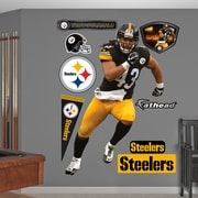 Fathead NFL Wall Decal; Pittsburgh Steelers - Polamalu
