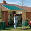 Coolaroo Cloth Roll 50pct UV Block Solar Shade; Forest Green