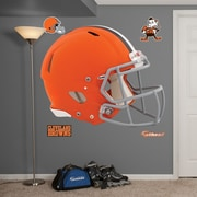 Fathead NFL Revolution Helmet Wall Decal; Cleveland Browns