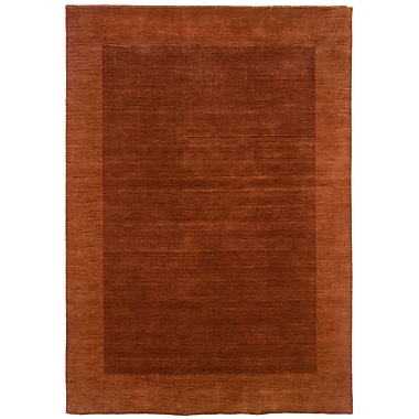 LR Resources Loom Seridian Sabatini Rust Rug; 5' x 7'9''