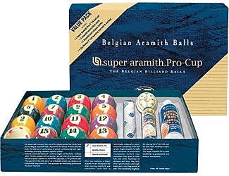 Aramith Billiard Balls - Super Aramith Pro Value Pack WYF078275841715