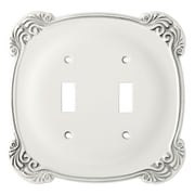 Brainerd Arboresque Double Switch Wall Plate
