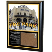 Steiner Sports MLB 8'' x 10'' Game Used Dirt Plaque; PNC Park