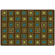 Carpets for Kids Squares Seating Kids Rug; 8' x 12'