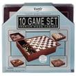 POOF-Slinky Premium Wood Box Board Game Set