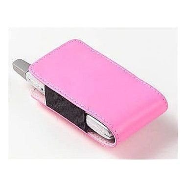 Clava Leather Large Leather iPod / Cell Phone Holder; Bridle Pink