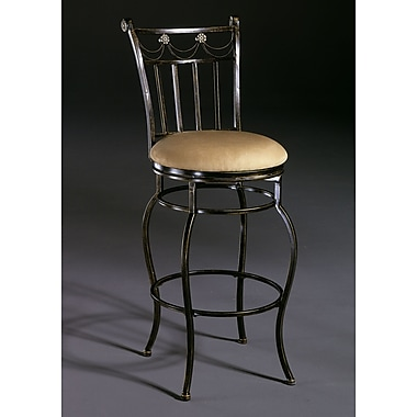 Hillsdale Camelot II 30'' Swivel Bar Stool with Cushion