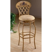 Hillsdale Rooster 31.5'' Swivel Bar Stool with Cushion