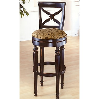 Hillsdale Normandy 30'' Swivel Bar Stool with Cushion