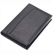 Clava Leather Quinley Junior Padfolio in Black