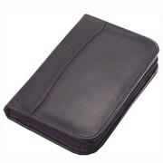 Clava Leather Quinley Junior Zip Padfolio; Quinley Caf