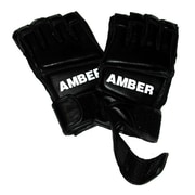 Amber Sporting Goods Grappling Gloves in Black; Extra Large