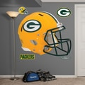 Fathead NFL Revolution Helmet Wall Decal; Green Bay Packers