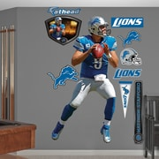 Fathead NFL Wall Decal; Detroit Lions - Stafford