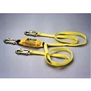 Miller Fall Protection Two-Legged Web Lanyard With SofStop  Shock Absorber And Locking Snap Hooks