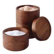 Rachael Ray Tools & Gadgets 3 Tier Wooden Stacking Salt Box