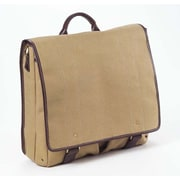 Clava Leather Canvas Messenger Bag