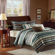 Madison Park Malone 7 Piece Comforter Set; King