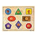Melissa and Doug Large Shapes Jumbo Wooden Knob Puzzle