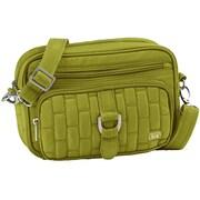 Lug Carousel Mini Cross Body Bag; Grass Green