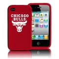 Tribeca NBA iPhone 4 Silicone Case; Chicago Bulls
