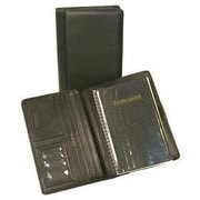 Bond Street Japanese Drum Dyed Leather Desk Agenda Organizer