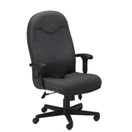 Mayline High-Back Executive Office Chair; Gray / Charcoal