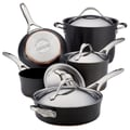 Anolon Nouvelle Copper 9 Piece Cookware Set