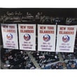Steiner Sports NY Islanders Stanley Cup Banners In the Rafters 16 Signature 20x24 Photograph
