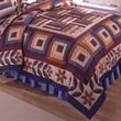Cedar Creek Bedding Festival of Fall Cotton Quilt; Full/Queen
