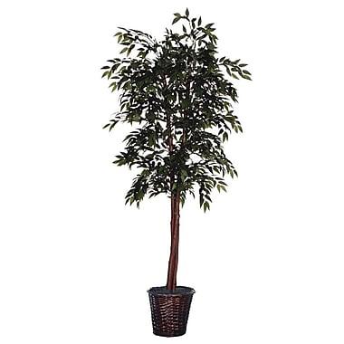 Vickerman Cedar w/ Cones Executive Smilax Tree in Basket